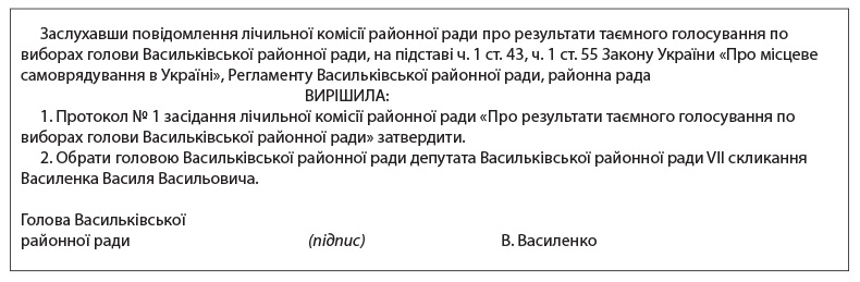присяга посадово особи мсцевого самоврядування бланк